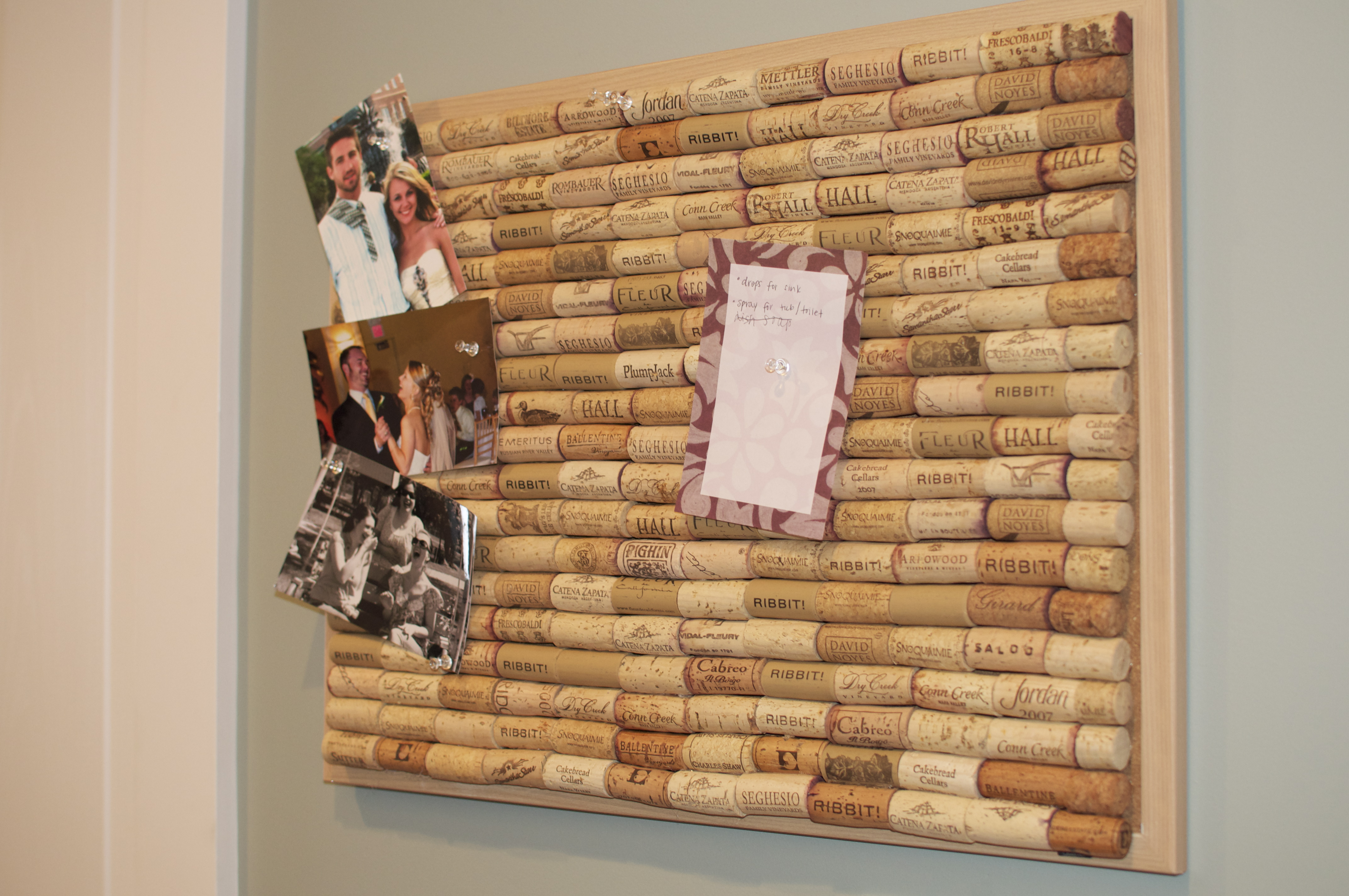 Craft ideas with corks - Ever